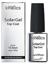 Парфюми, Парфюмерия, козметика Топ за гел-лак - Kinetics Top Coat Solar Gel Up To 10 Days