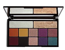 Парфюмерия и Козметика Палитра за грим - Makeup Revolution X Carmi Kiss Of Fire Palette
