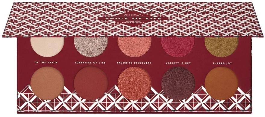 Палитра сенки за очи - Zoeva Spice Of Life Eyeshadow Palette — снимка N2