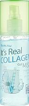 Парфюмерия и Козметика Гел-мист за лице с колаген - FarmStay It's Real Collagen Gel Mist