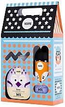 Парфюмерия и Козметика Подаръчен комплект за деца - Yope Kids Gift Set (течен сапун/400ml + душ гел/400ml)