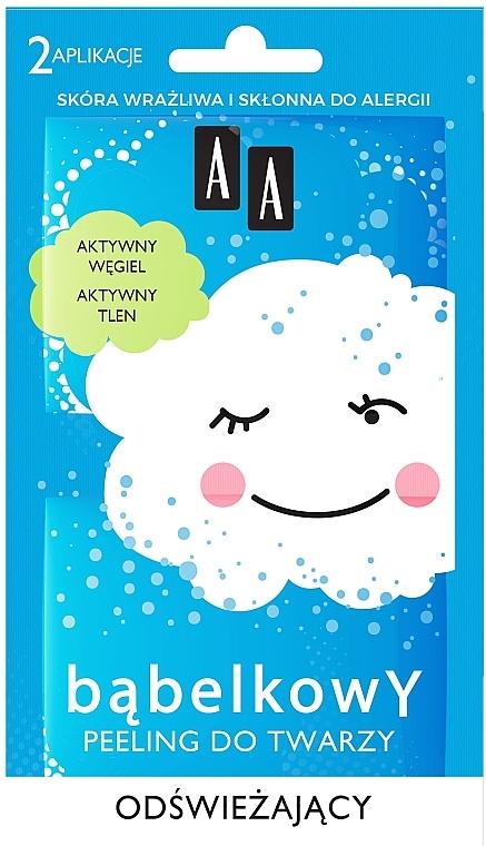 Освежаващ пилинг за лице - AA Bubble Peeling — снимка N1