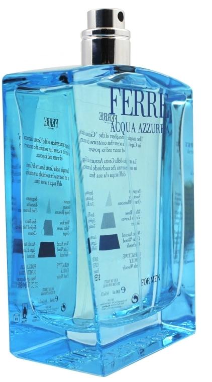 Gianfranco Ferre Acqua Azzurra - Тоалетна вода (тестер без капачка)  — снимка N2