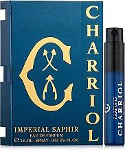 Парфюми, Парфюмерия, козметика Charriol Imperial Saphir - Парфюмна вода (мостра)