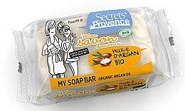 Парфюми, Парфюмерия, козметика Сапун - Secrets De Provence My Soap Bar Organic Argan Oil