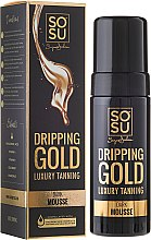 "Парфюмерия и Козметика Мус-автобронзант за тяло ""Dripping Gold Luxury"" - Sosu by SJ Dripping Gold Luxury Tanning Mousse"