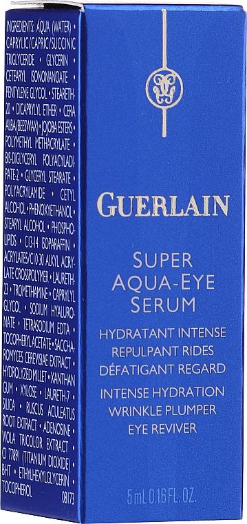 Комплект за лице - Guerlain Super Aqua Serum Set (серум/50ml + околоочен серум/5ml + маска/1бр + лосион/15ml) — снимка N7