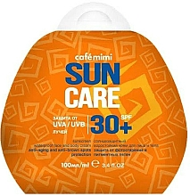 Парфюмерия и Козметика Слънцезащитен водоустойчив крем за лице и тяло SPF30+ - Cafe Mimi Sun Care