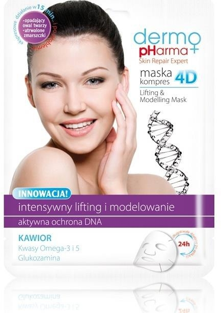 Маска за лице - Dermo Pharma Skin Repair Expert Lifting Modeling Mask 4D — снимка N1