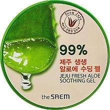 Парфюмерия и Козметика Универсален гел със 99% алое - The Saem Jeju Fresh Aloe Soothing Gel 99%