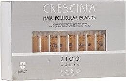 Парфюмерия и Козметика Лосион за стимулиране на растежа на косата за жени 2100 - Crescina Hair Follicular Island 2100 Woman