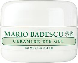 Парфюмерия и Козметика Подхранващ околоочен гел - Mario Badescu Ceramide Eye Gel