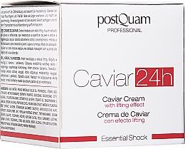 Парфюмерия и Козметика Крем за лице с лифтинг ефект - Postquam Caviar 24h Cream Lifting Effect