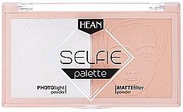 Парфюмерия и Козметика Палитра за фиксиране на грима - Hean Selfie Palette