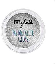Парфюмерия и Козметика Пудра за нокти - MylaQ My Matellic Gloss