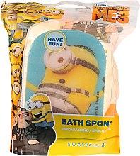 """Парфюмерия и Козметика Детска гъба за баня """"Миньоните"""", синя, Карл в затвора - Suavipiel Minnioins Bath Sponge"""