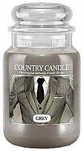 Парфюми, Парфюмерия, козметика Ароматна свещ в бурканче - Country Candle Grey