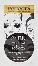 Парфюмерия и Козметика Пачове с въглен за под очи - Dax Cosmetics Perfecta Eye Patch