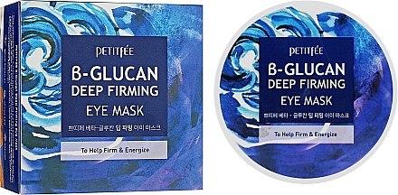Супер укрепващи пачове за под очи с бета глюкан - Petitfee&Koelf B-Glucan Deep Firming Eye Mask — снимка N1