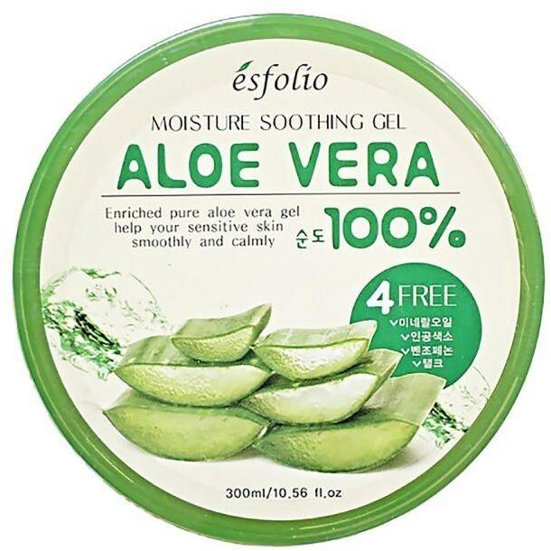 Хидратиращ гел за лице с алое - Esfolio Moisture Soothing Gel Aloe Vera 100% Purity
