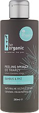 "Парфюми, Парфюмерия, козметика Скраб за лице ""Бамбук и ориз"" - Be Organic Facial Cleansing Scrub"
