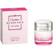 Парфюми, Парфюмерия, козметика Cartier Baiser Vole Lys Rose - Тоалетна вода (тестер с капачка)
