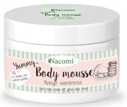 """Парфюми, Парфюмерия, козметика Моделиращ мус за тяло """"Макарон с манго"""" - Nacomi Body Mousse"""