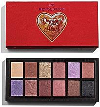 Парфюми, Парфюмерия, козметика Палитра сенки за очи - Makeup Revolution Unicorns Heart Eyeshadow Palette