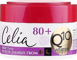 """Парфюми, Парфюмерия, козметика Наситен крем против бръчки """"Витаминен"""" - Celia Q10 Face Cream 80+"""