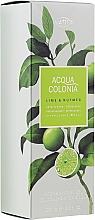 Парфюмерия и Козметика Maurer & Wirtz 4711 Aqua Colonia Lime & Nutmeg - Душ гел