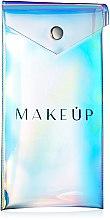 """Парфюми, Парфюмерия, козметика Козметичен несесер за моливи """"Holographic"""", 18х9см - MakeUp"""