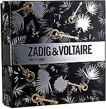 Парфюми, Парфюмерия, козметика Zadig & Voltaire This is Him - Комплект (edt/50ml + sh/gel/100ml)