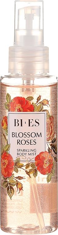 Bi-es Blossom Roses Sparkling Body Mist - Парфюмен мист за тяло с блестящи частици — снимка N2