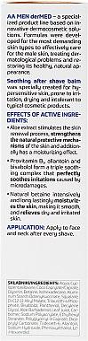 Балсам след бръснене за много чувствителна кожа - AA Cosmetics Men derMED After-Shave Balm — снимка N3