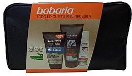 Парфюми, Парфюмерия, козметика Комплект за мъже - Babaria Men Vital Skin Set (fluid/75ml+sh/foam/100ml+a/sh/gel/150ml+bag)