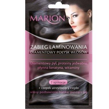 """Маска за коса """"Диамантено ламиниране"""" - Marion"""