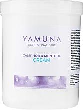 Парфюмерия и Козметика Масажен крем с камфора и ментол - Yamuna Camphoros Mentolos Cream