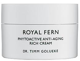 Парфюмерия и Козметика Високоефективен подмладяващ крем за изравняване на тена - Royal Fern Phytoactive Anti-Aging Cream