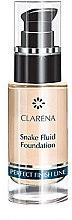 Парфюми, Парфюмерия, козметика Фон дьо тен флуид за лице - Clarena Snake Fluid Foundation