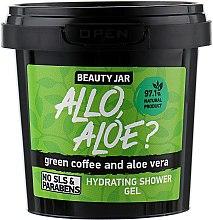 Парфюмерия и Козметика Хидратиращ душ гел със зелено кафе и алое - Beauty Jar Hidrating Shower Gel