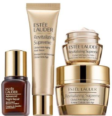 Комплект - Estee Lauder Revitalizing Supreme Starter Set (eye/balm/mini/5ml + mask/15ml + cr/15ml + serum/7ml) — снимка N1