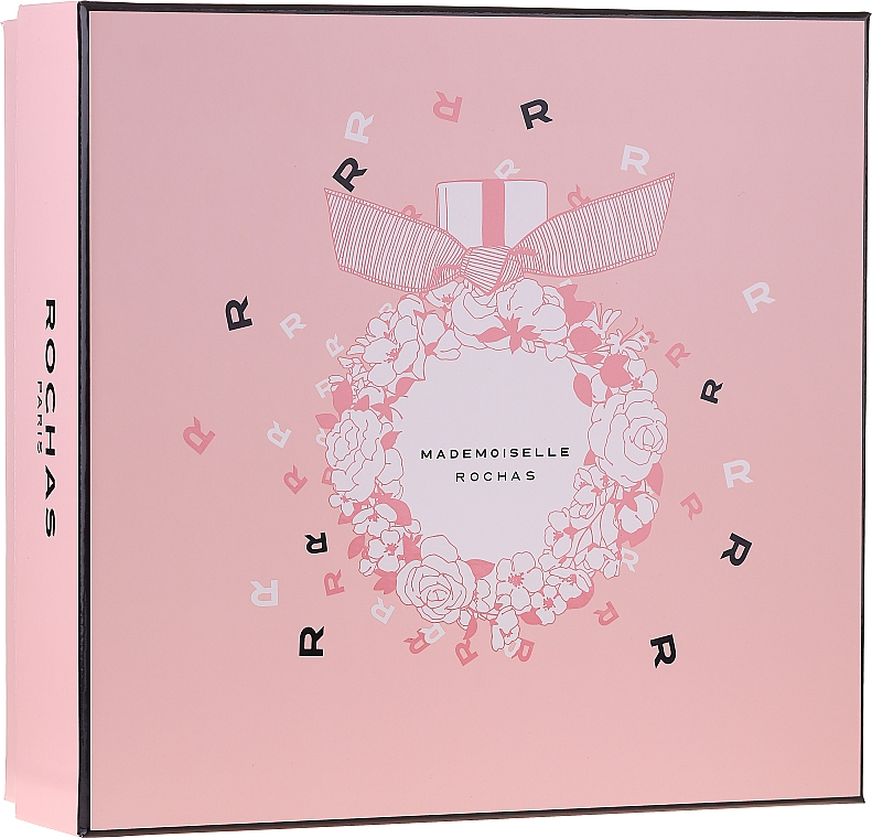 Rochas Mademoiselle Rochas - Комплект (парф. вода/50ml + лос. за тяло/50ml + душ гел/50ml)
