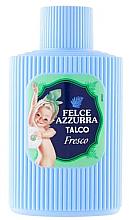 Парфюмерия и Козметика Талк за тяло - Felce Azzurra Fresh Talcum Powder