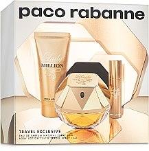Paco Rabanne Lady Million - Комплект (edp/80 + b/lot/75ml + edp/10ml) — снимка N5