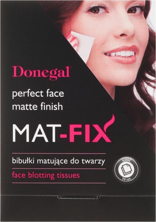"""Попиващи кърпи за лице с матиращ ефект """"Mat-Fix"""" - Donegal Face Blotting Tissues Mat-Fix"""