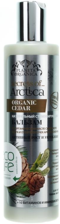Балсам за коса с масло от сибирски кедър - Planeta Organica — снимка N1