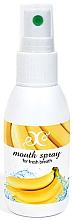 """Парфюмерия и Козметика Освежаващ спрей за уста """"Банан"""" - Hristina Cosmetics Banana Mouth Spray"""