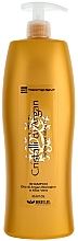 Парфюмерия и Козметика Овлажняващ шампоан с арганово малсо и алое - Brelil Bio Traitement Cristalli d'Argan Shampoo Intensive Beauty