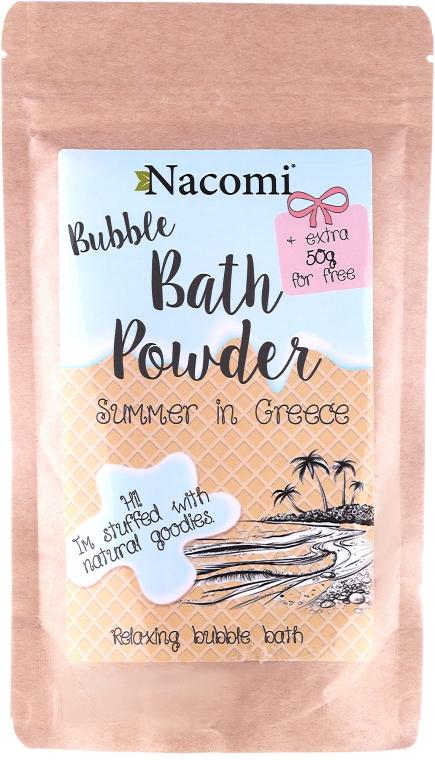 """Пудра за вана """"Гръцко лято"""" - Nacomi Bath Powder — снимка N1"""