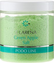 Парфюми, Парфюмерия, козметика Сол с екстракт от зелена ябълка за педикюрна вана - Clarena Podo Line Green Apple Salt